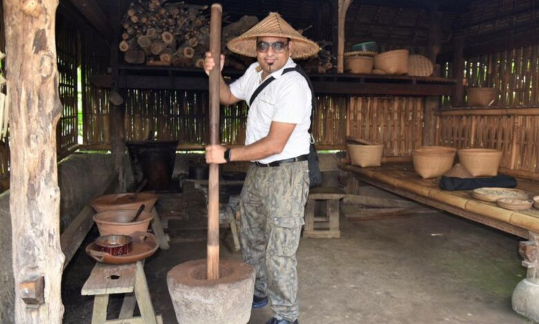 Photo of Indonesian Luwak Coffee Under Making At Udud Bali