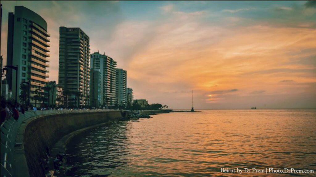 Mesmerising Beirut, Lebanon Sunset Time Pics By Dr Prem Jagyasi