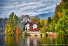 Photo of Mesmerizing Mountains and Gigantic The Mediterranean Sea, Picturesque Slovenia
