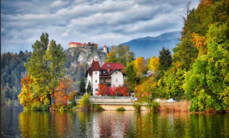Photography - Mesmerizing mountains and gigantic the Mediterranean Sea, picturesque Slovenia - Dr Prem Jagyasi