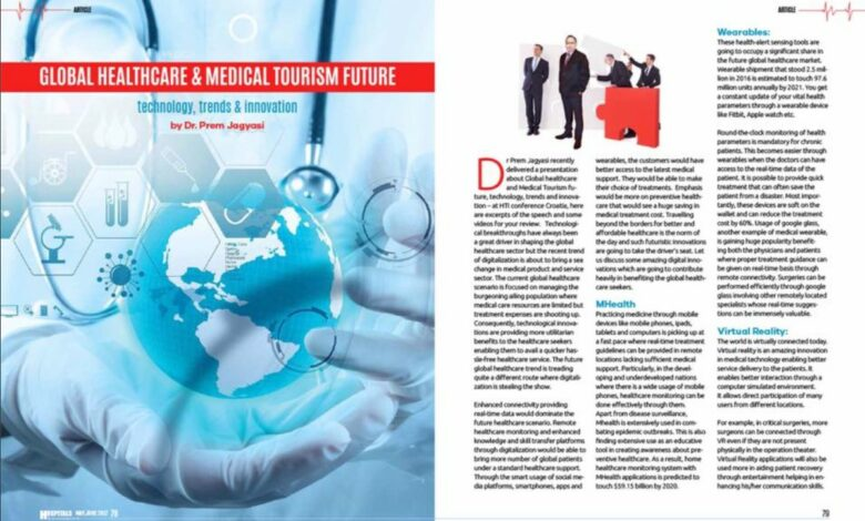 Photo of Published My Article On A Leading Middle Eastern Magazine – Arab Hospital
