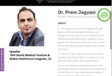 World Medical Tourism & Global Healthcare Congress 2017, LA, USA - Dr Prem Jagyasi