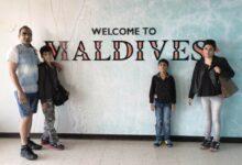 Celebrating Christmas Holidays With Family In Maldives - Dr Prem Jagyasi