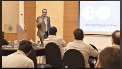 Conducting Lean Leadership Workshop in Gujarat for Sterling Hospital Senior Management Staff - Dr Prem Jagyasi
