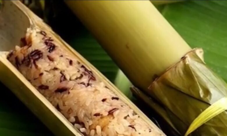 Delicious And Nutritious Tribal Food Of India - Bamboo Briyani By Dr Prem Jagyasi