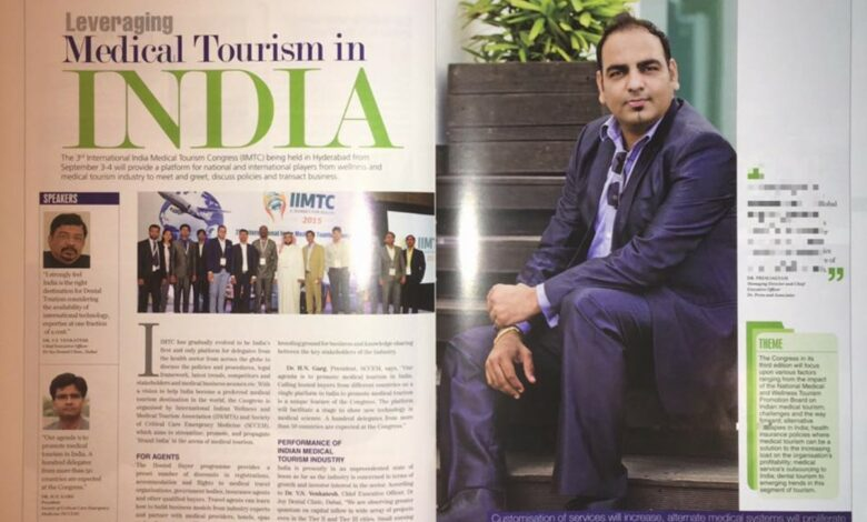 Photo of Featured In Wellness Edition of TraveTalk Magazine