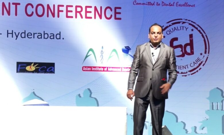 Forum For Better Dentistry In Hyderbad India By IDA - Dr Prem Jagyasi