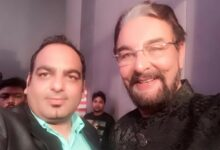 Got Yet Another Award For My Work In Wellness Segment By Actor Kabir Bedi - Dr Prem Jagyasi