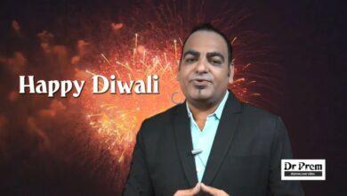 Happy Diwali By Dr Prem Jagyasi