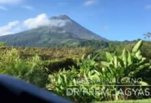 Photo of Incredible Arenal Volcano, Taken Right From Mountain Paradise Hotel