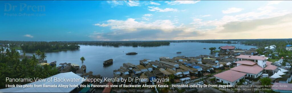 Most Amazing Panoramic View Of Backwater Of Alleppey Kerala - Dr Prem Jagyasi