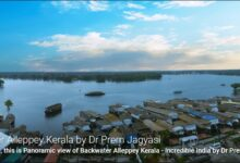 Photo of Most Amazing Panoramic View Of Backwater Of Alleppey Kerala