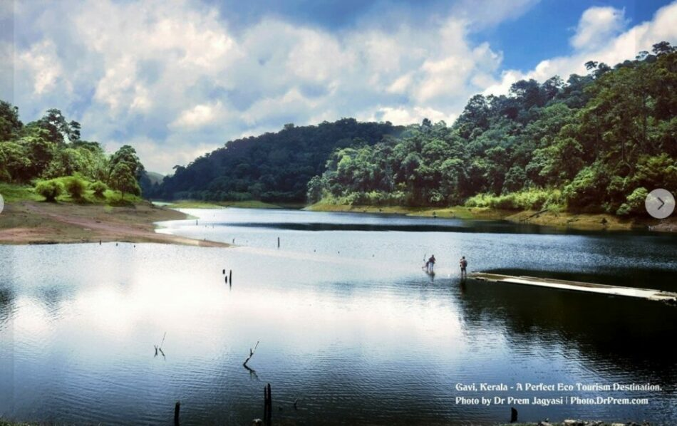My Photo And Article About Gavi A Perfect Eco Tourism Destination Kerala - Dr Prem Jagyasi