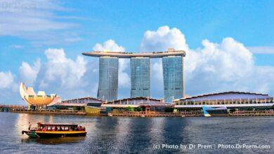 Photo of the day - Singapore Marina Bay - Dr Prem Jagyasi
