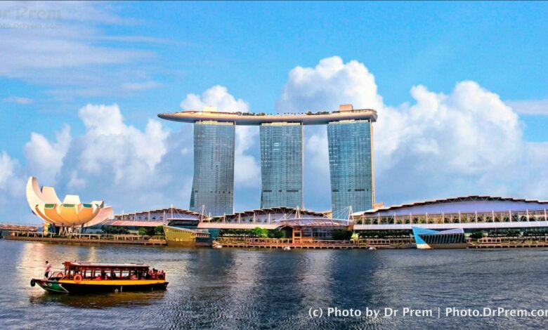 Photo of the day - Singapore Marina Bay - Dr Prem Jagyasi