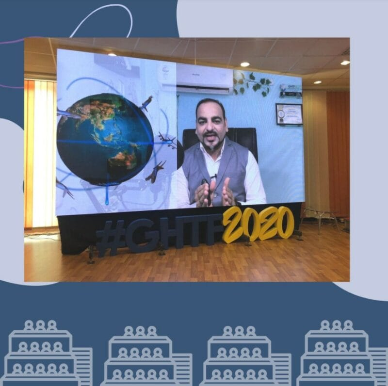 Recent Speech in 4th Global Healthcare Travel Forum - Dr Prem Jagyasi