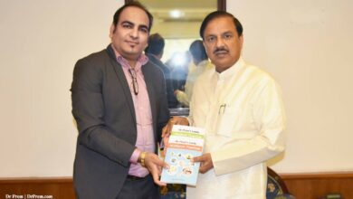 Photo of With Honourable Indian Cabinet Minister of Culture, Tourism and Civi Aviation – Dr. Mahesh Sharma BJP