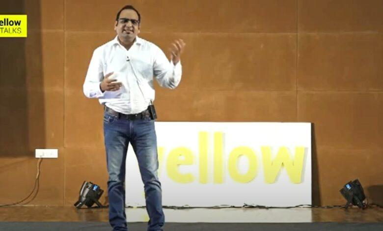 Yellow Talks - Carve Life like a Sculpture - Dr Prem Jagyasi