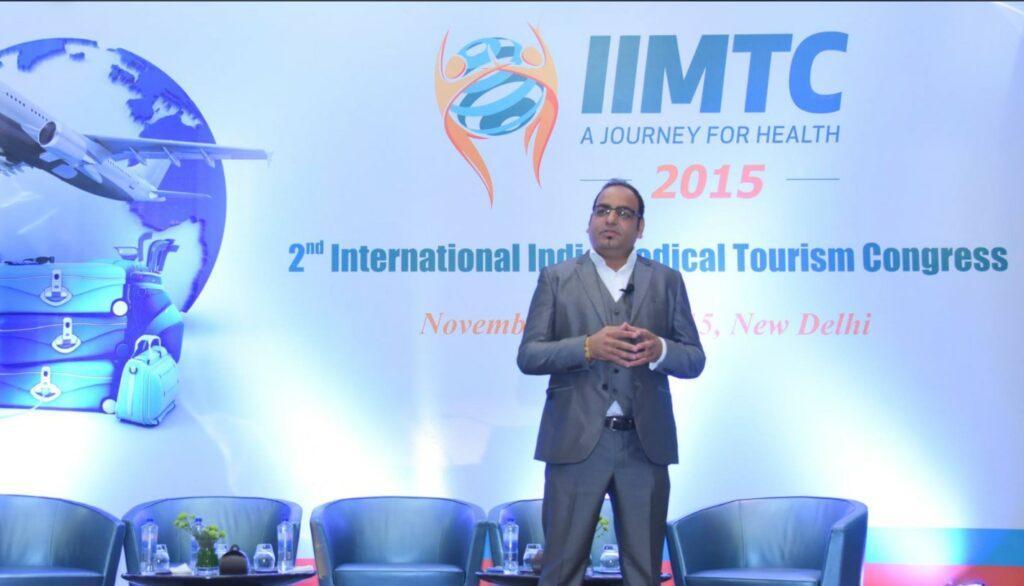 International Excellence Of The Year And Best Keynote Speaker Award At IIMTC - Dr Prem Jagyasi 1