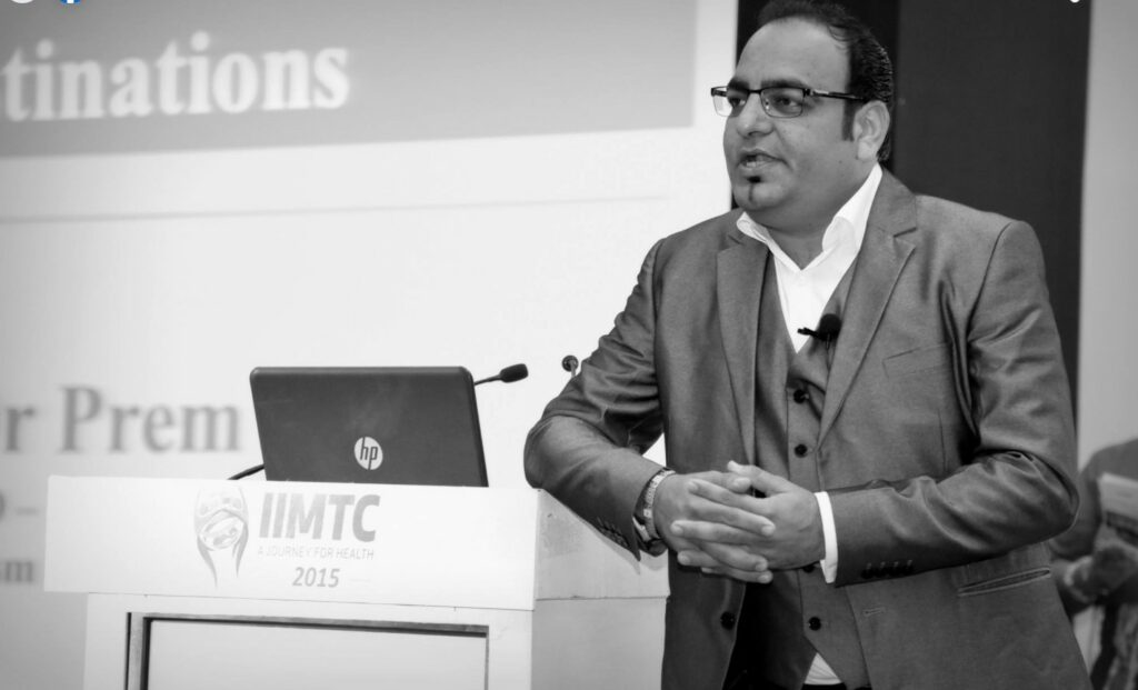 International Excellence Of The Year And Best Keynote Speaker Award At IIMTC - Dr Prem Jagyasi 2
