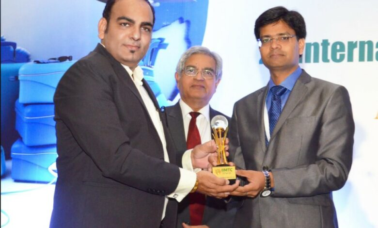 Photo of International Excellence Of The Year And Best Keynote Speaker Award At IIMTC