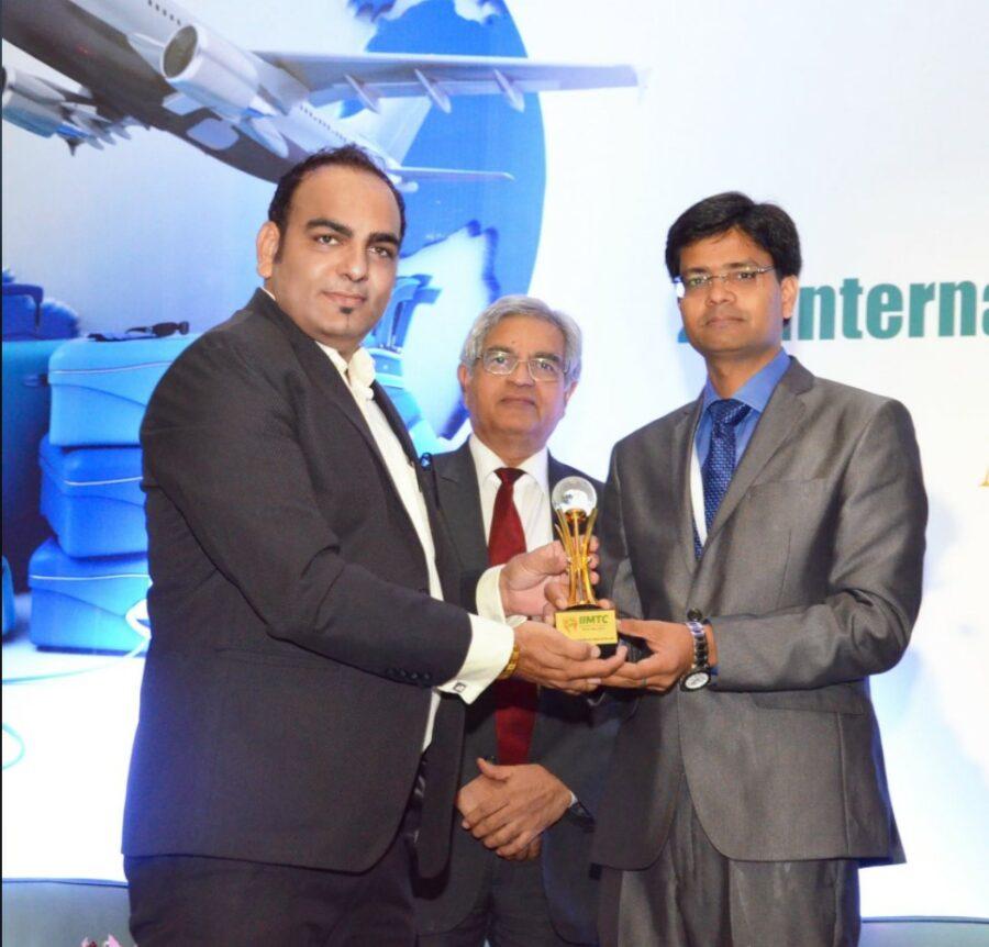 International Excellence Of The Year And Best Keynote Speaker Award At IIMTC - Dr Prem Jagyasi