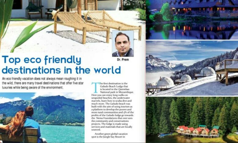 Photo of My Latest Article About Eco Tourism Destination in Asian Traveller Magazine