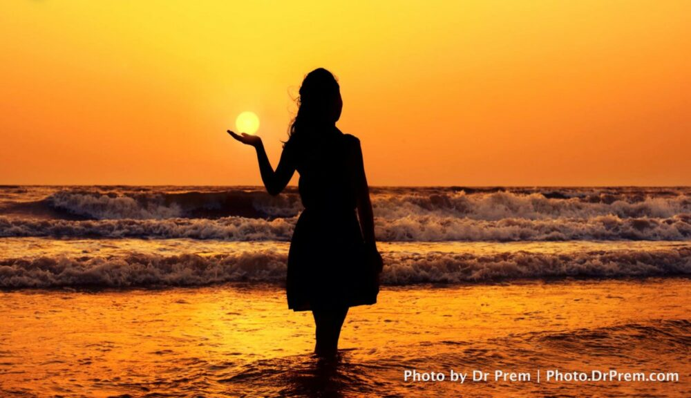 Photo of the day! My first Silhouette Photograph - Dr Prem Jagyasi