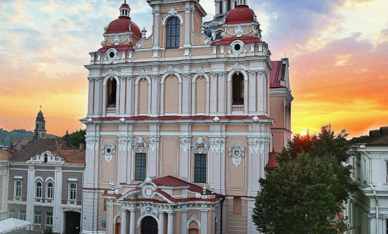 Pic of Church of St. Casimir, Vilnius, Lithuania - Dr Prem Jagyasi