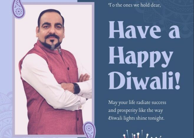 Wishing You All Wonderful People, A Happy Diwali From Dr Prem