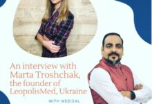 An Inerview With Marta Troshchak, Founder Of LeopolisMed, Ukraine By Dr Prem Jagyasi