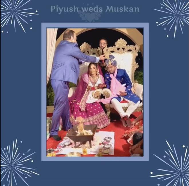 Piyush Weds Muskan - Dr Prem Jagyasi 1