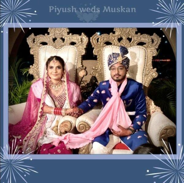 Photo of Piyush Weds Muskan