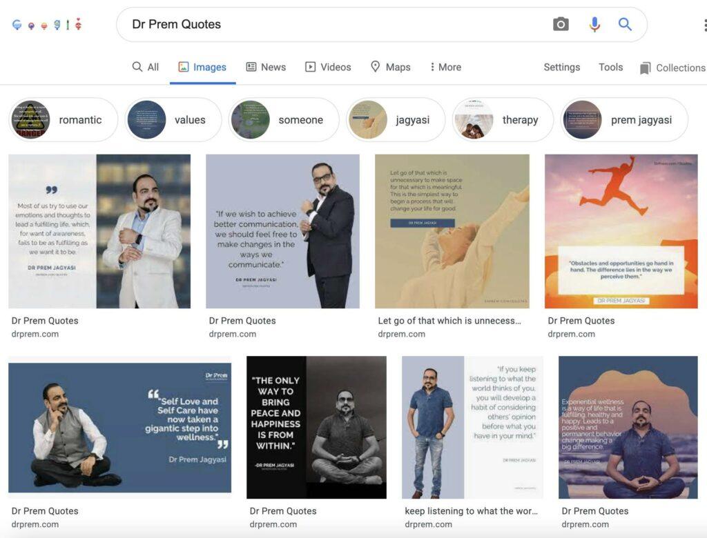Dr Prem Quotes