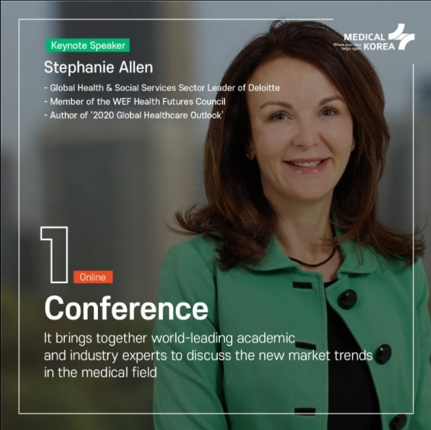 Medical Korea - a prestigious conference organized by the Korea Health Industry Development Institute4