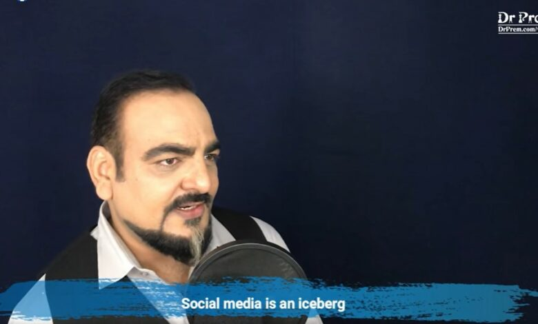 Social Media is an Iceberg