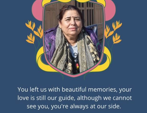 We miss you Mom