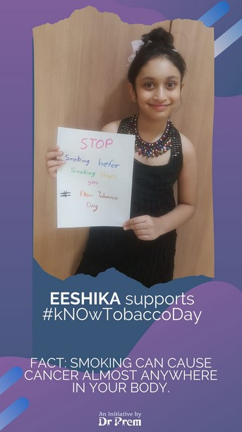 World No Tobacco Day Let Us Be A Part Of This Campaign