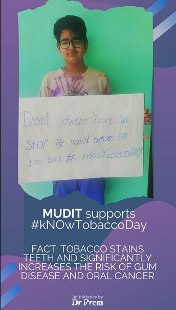 World No Tobacco Day Let Us Be A Part Of This Campaign13