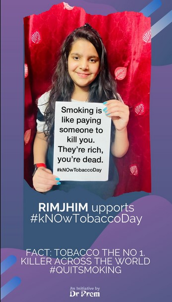 World No Tobacco Day Let Us Be A Part Of This Campaign3