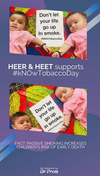World No Tobacco Day Let Us Be A Part Of This Campaign8