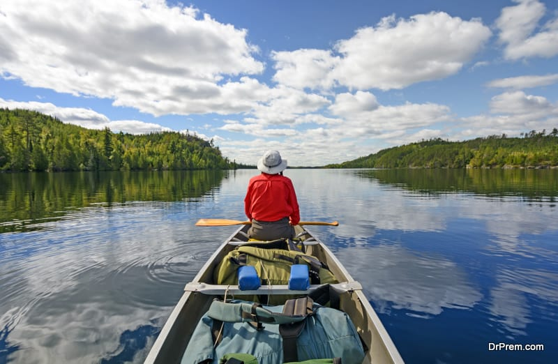 Boundary Waters Canoe Area Wilderness in Minnesota