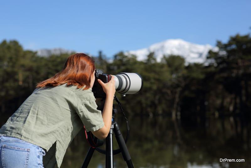 Photo shots of the surrounding landscape
