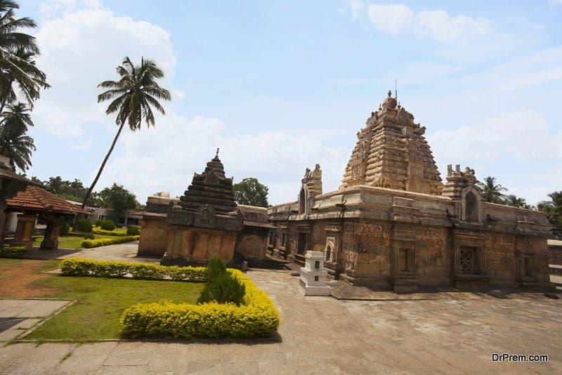 Madhukeshwara Temple at Banavasi, Karnataka, India