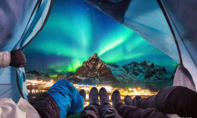 some great places to view spectacular northern lights