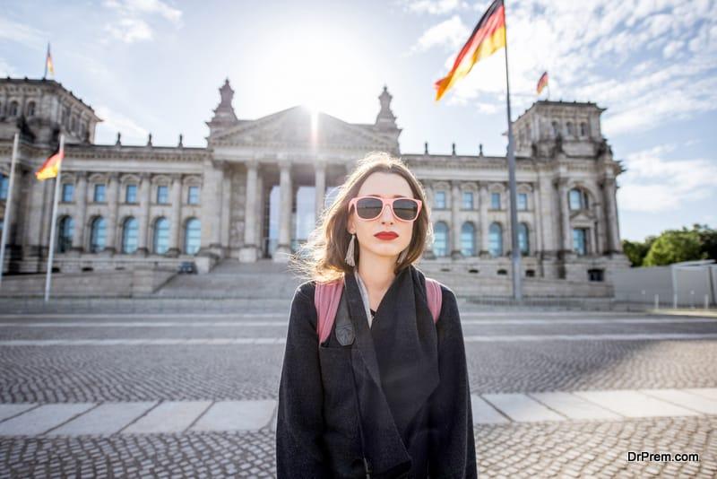 visit to a German city