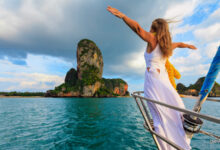 woman on Holiday Tourism