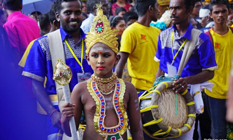 Malaysian thaipusam festival