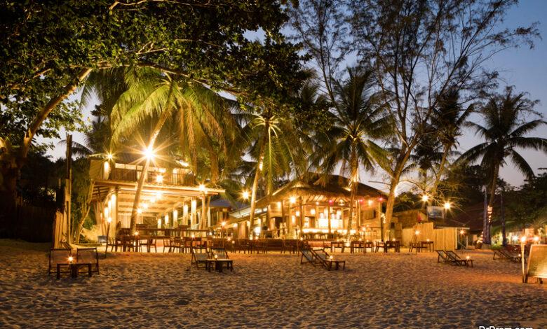dining in Thailand koh samui resort