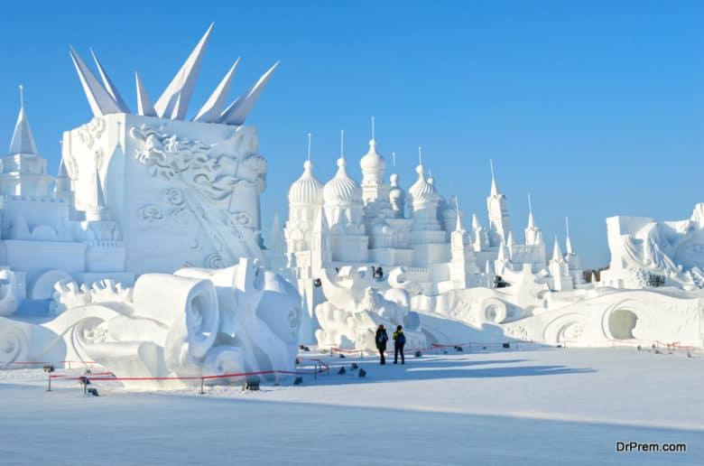 Harbin International Ice and Snow Sculpture Festival, China